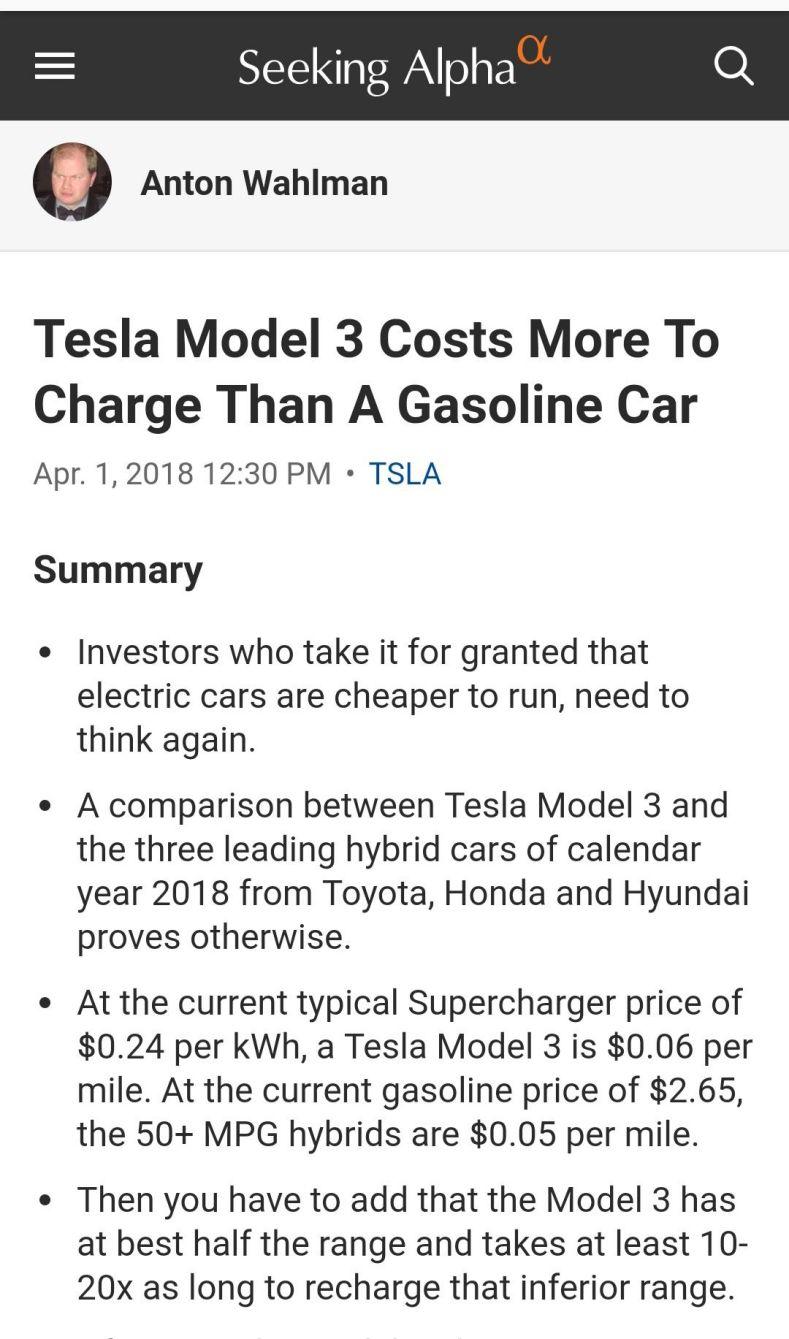 电动车将杀死燃油车?没那么简单|聚论